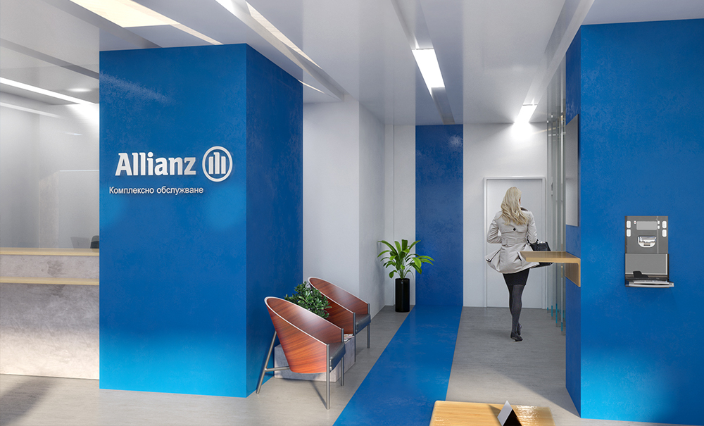 Allianz - bank interior